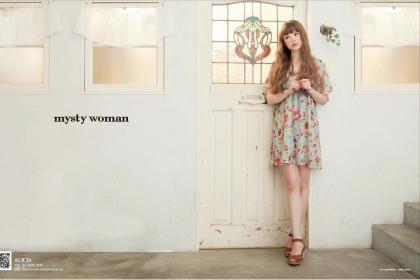 ベーシックカジュアルブランド「mystywoman」シーズン広告&カタログデザイン