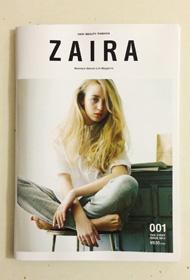 ファッションマガジン「ZAIRA」