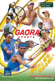 CSスポーツ番組広告デザイン
