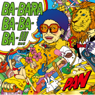 「PAN」アルバム「BA-BARA BA-BA-BA-!!」 CDジャケットディレクション&デザイン