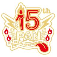 ロックバンド 15周年ロゴ