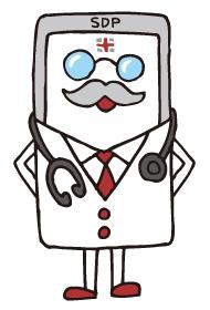 「スマートドクタープロ」キャラクター「Dr.スマート」 キャラクターデザイン