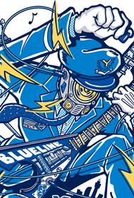音楽フェス「横浜ブルーラインフェス」 メインビジュアルデザイン