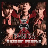 男性ダンス&ヴォーカルグループ 「FEARLESS」アルバム「Buzzin'People」CDジャケットデザイン
