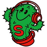 オンライン音楽CDショップ「SABOTEN MUSIC」 キャラクター&ロゴデザイン