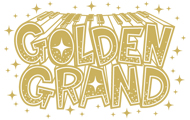 音楽フェス「GOLDEN GRAND」 イベントロゴデザイン