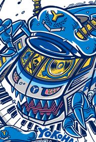 音楽フェス「横浜ブルーラインフェス2019」 メインビジュアルデザイン
